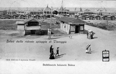 Bagno Balena - Anno 1890