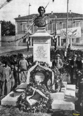 Monumento P.B. Shelley - Anno 1894