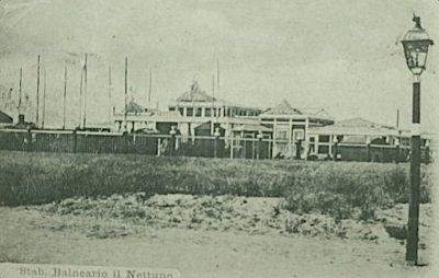 Stabilimento balneario nettuno - Anni 1850 - 1900 circa