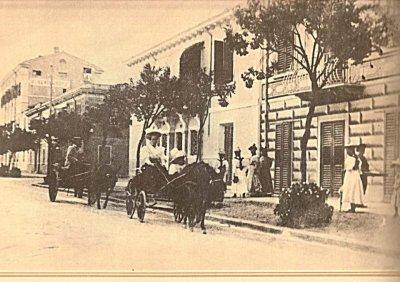 Via Ugo Foscolo - Anno 1895