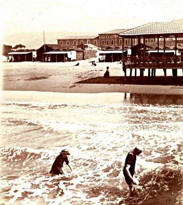 Mare e spiaggia - Anno 1899