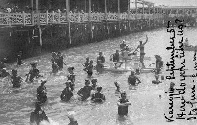 A fare il bagno - Anno 1907