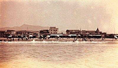 Panorama spiaggia - Anno 1907
