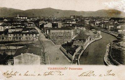 Panoramica Burlamacca - Anno 1907