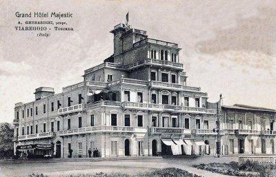 Hotel Majestic - Anno 1909