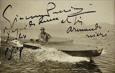 Puccini sul Lago - Anno 1909