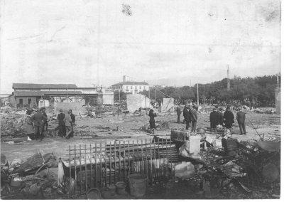 Incendio della Passeggiata - Anno 1917