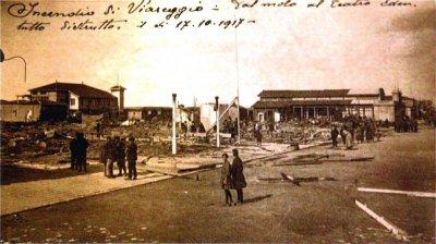 Incendio in Passeggiata - Anno 1917