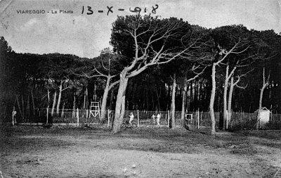 Circolo tennis Viareggio - Anno 1918