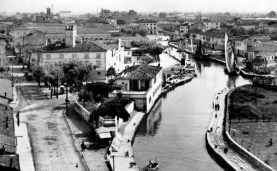 Canale Burlamacca e Fortino - Anno 1928