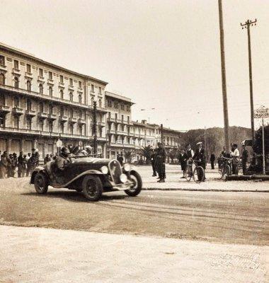 Gara automobilistica - Anno 1928