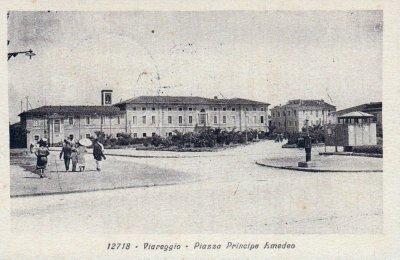 Piazza principe Amedeo - Anno 1928