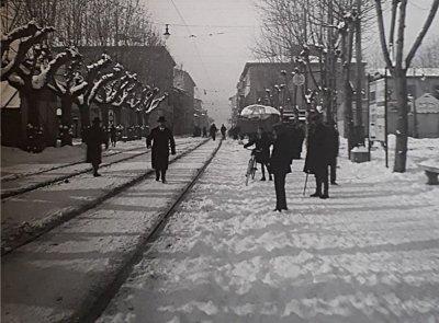Nevicata - Anno 1929