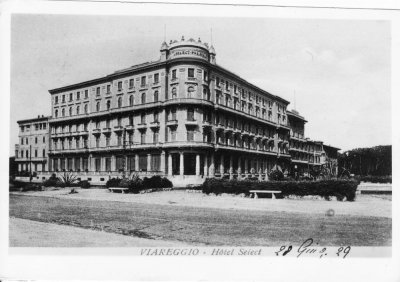 Select Palace Hotel - Anno 1929