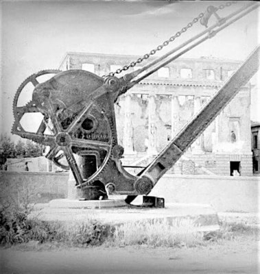 Argano del ponte - Anni '40