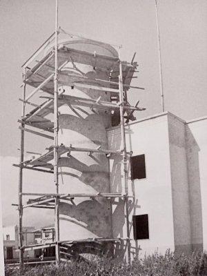 Costruzione del nuovo Faro - Anno 1948