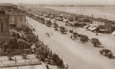 Panorama viali a mare - Anno 1948