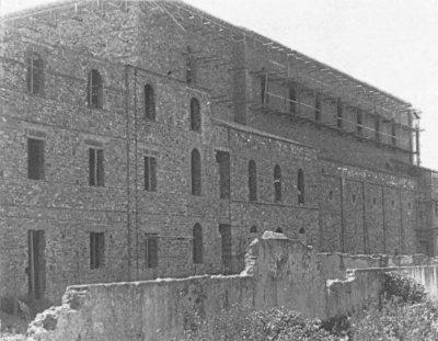 Ricostruzione chiesa di S. Antonio - Anni '40