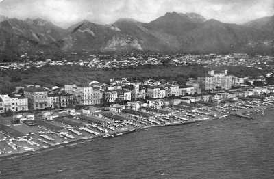 Panorama spiaggia - Anno 1958