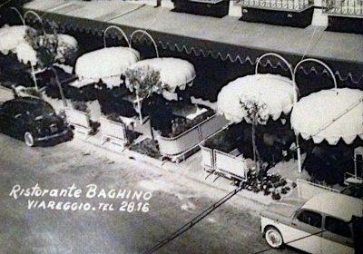 Ristorante Baghino - Anno 1958