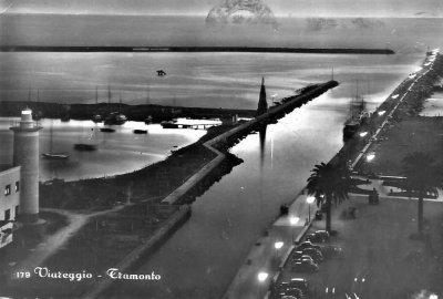 Tramonto sul Porto - Anno 1958