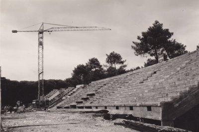 Costruzione dello stadio - Anno 1959