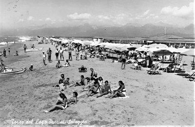 In spiaggia sulla Marina - Anno 1959