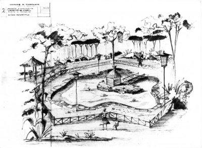 Progetto Laghetto dei Cigni - Anno 1959