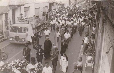Funerali Angelo Basalari - Anno 1966