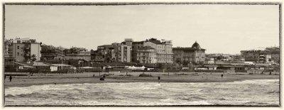 Panoramica spiaggia - Anno 1966