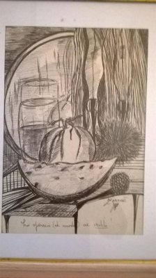 Dipinto Zorria - Anno 1978