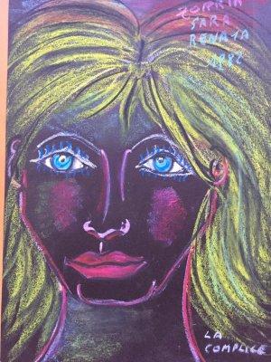 Dipinto Zorria - Anno 1982