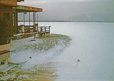 Lago ghiacciato - Anno 1985