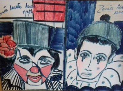 Dipinto Zorria - Anno 1986