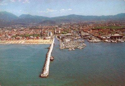 Panorama aereo sul porto - Anni '90