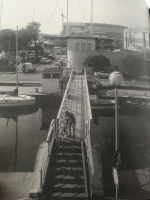 Passerella sul molo - Anni '90