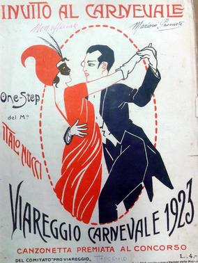 Carnevale di Viareggio 1923