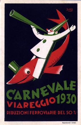 Carnevale di Viareggio 1930