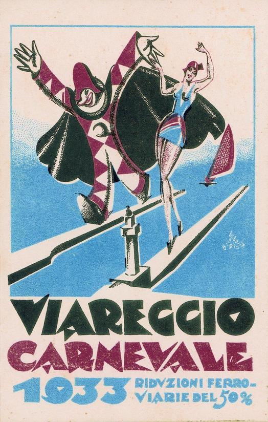 Carnevale di Viareggio 1933