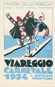 Carnevale di Viareggio 1934