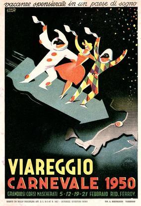 Carnevale di Viareggio 1950