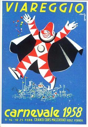 Carnevale di Viareggio 1958