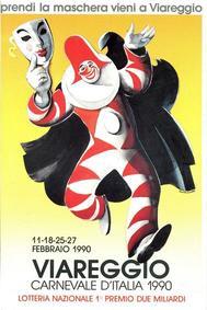 Carnevale di Viareggio 1990