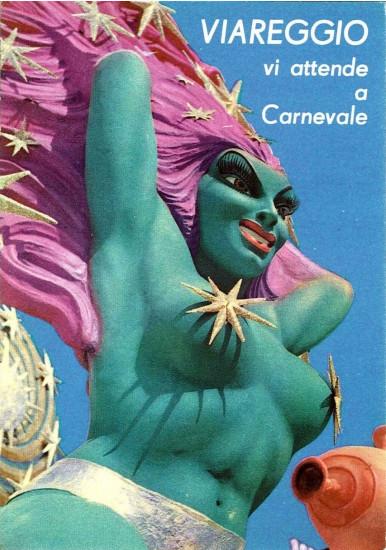 Manifesto ufficiale Carnevale di Viareggio 1960