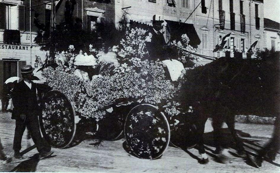 I quattro mori di Regia Marina Dist - Carri piccoli - Carnevale di Viareggio 1883