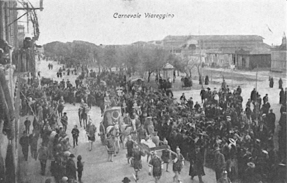 Il trionfo di Giulio Cesare di  - Carri piccoli - Carnevale di Viareggio 1905