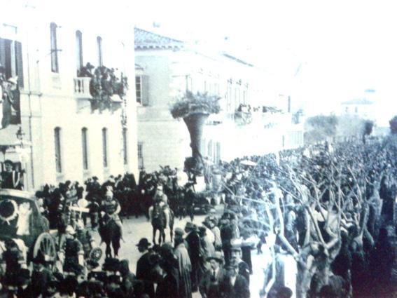 La cornucopia della felicita di  - Carri piccoli - Carnevale di Viareggio 1905