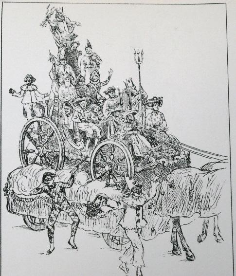 Il trionfo del Carnevale di Alfredo Fontanini - Carri piccoli - Carnevale di Viareggio 1906