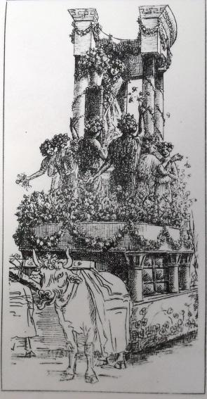 La dea dei fiori di Pietro Tofanelli - Carri piccoli - Carnevale di Viareggio 1906