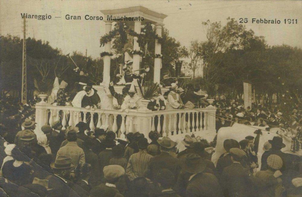 La regina del carnevale di  - Carri piccoli - Carnevale di Viareggio 1911